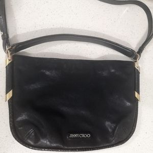 Jimmy Choo black crossbody bag